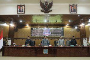 Bupati dan Pimpinan DPRD Kab. Tanjung Jabung Barat